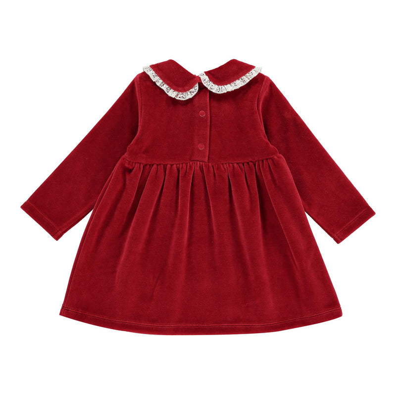 Velour Party Dress