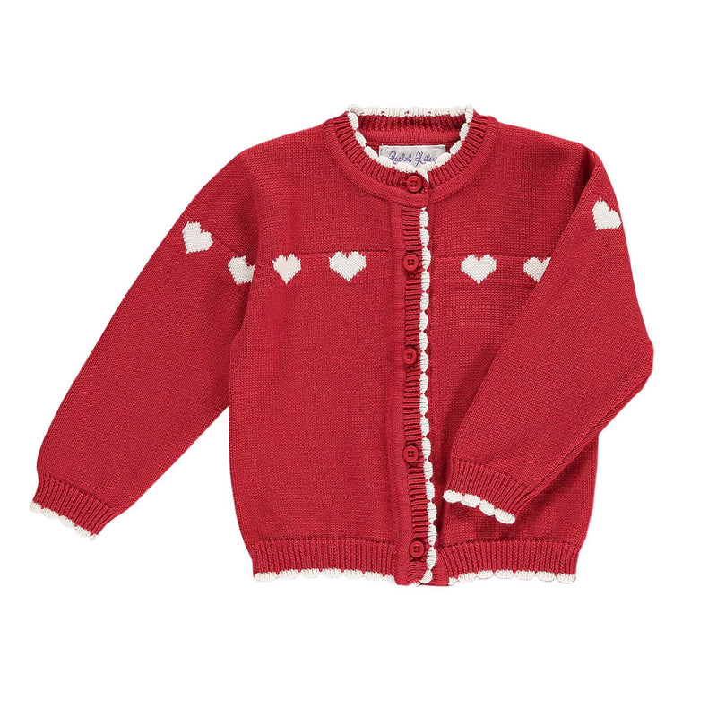 Heart Cardigan & Trouser Set