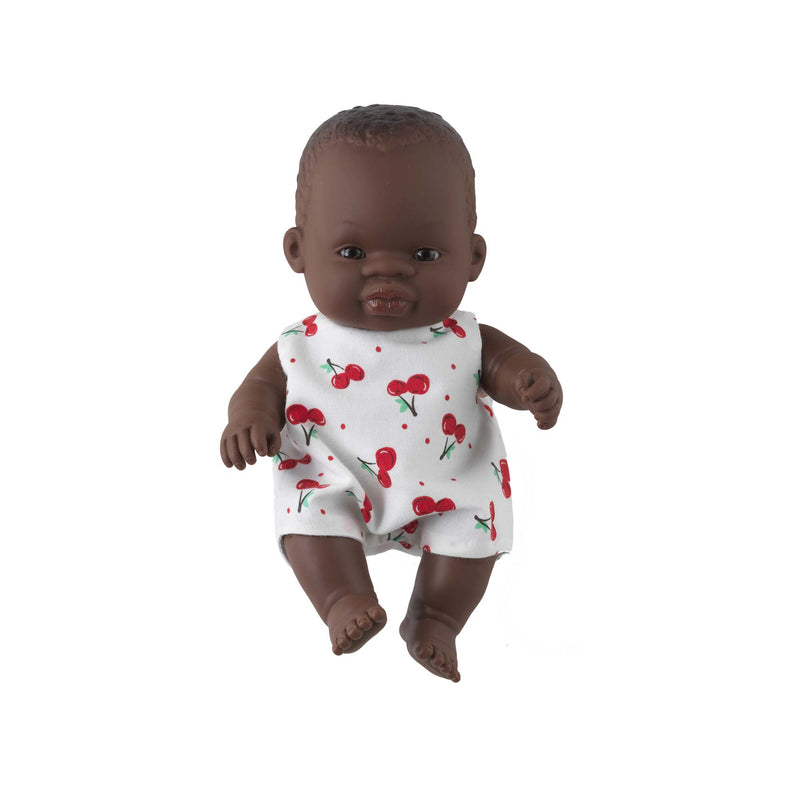 'Twinkle' Baby Girl Doll & Cherry Babysuit