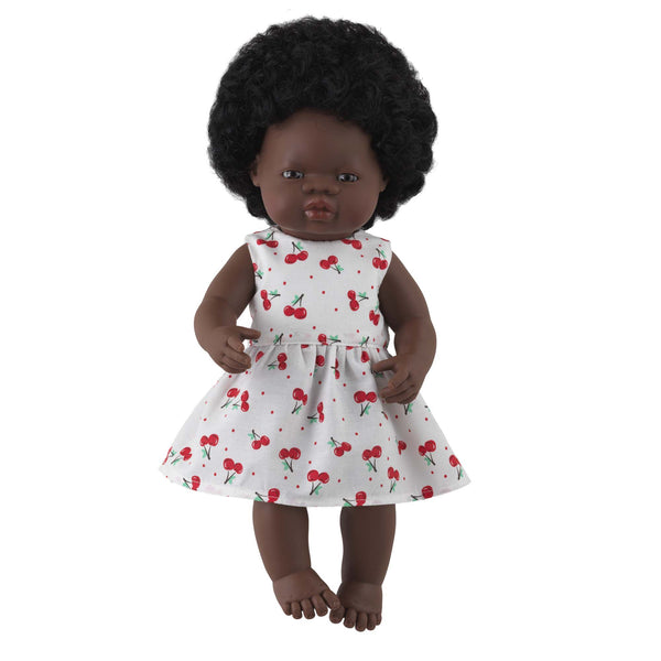 'Tilly' Girl Doll & Cherry Dress