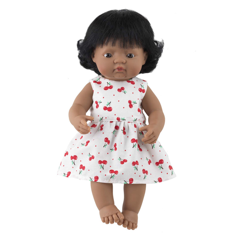 'Joy' Girl Doll & Cherry Dress