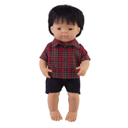 'Simon' Boy Doll & Tartan Set