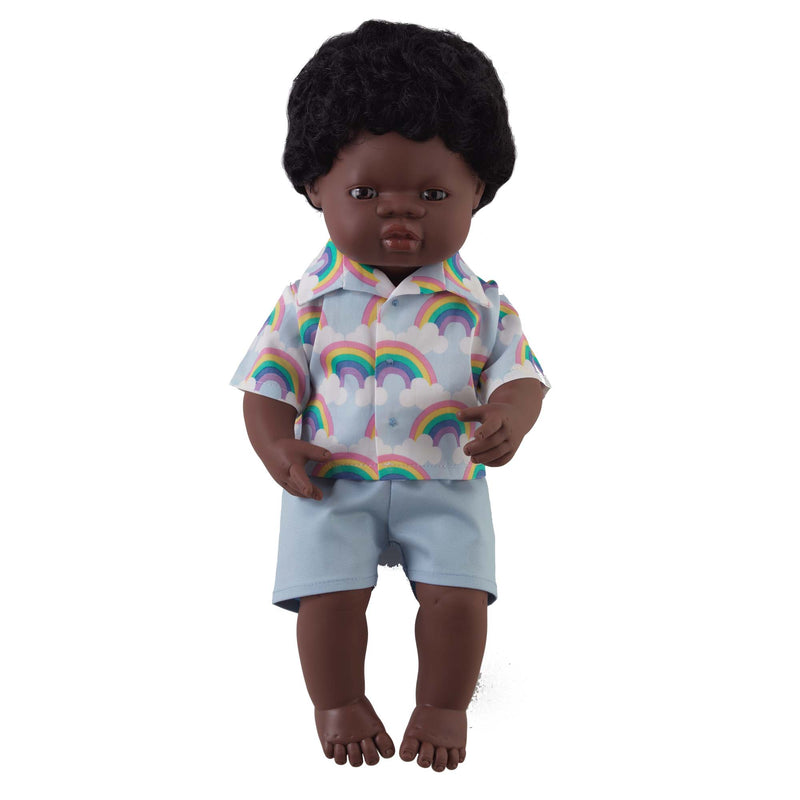 'Thomas' Boy Doll & Rainbow Set