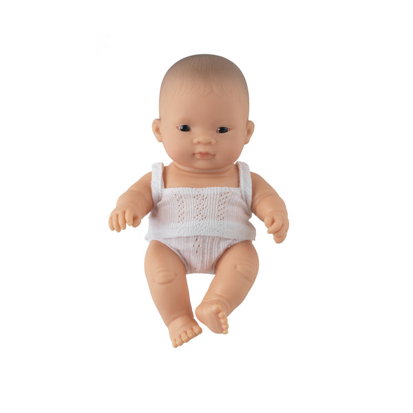 'Sammy' Baby Boy Doll & Rainbow Romper