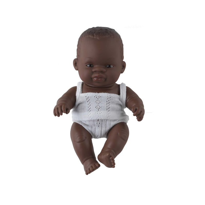 'Toto' Baby Boy Doll & Rainbow Romper