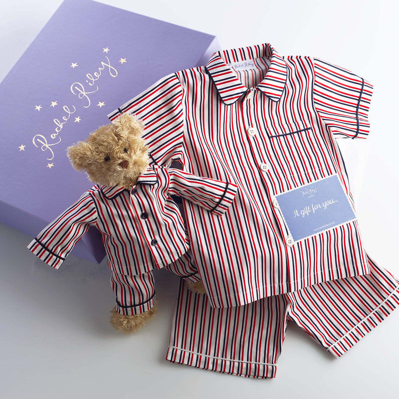 Match with Teddy Nightwear Gift Box