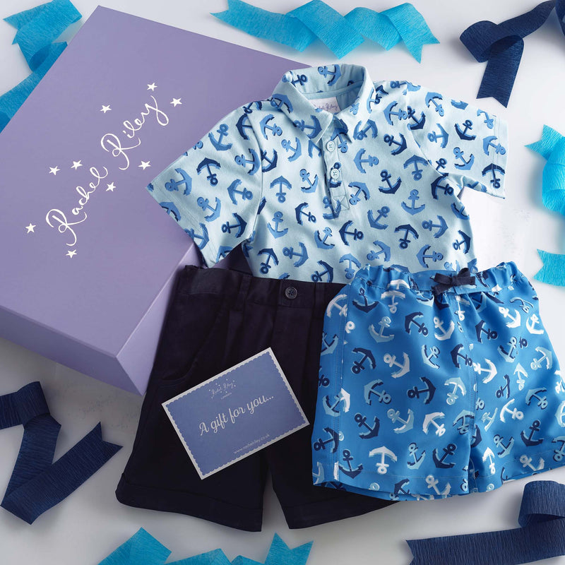 Anchors Aweigh Gift Box for Boys
