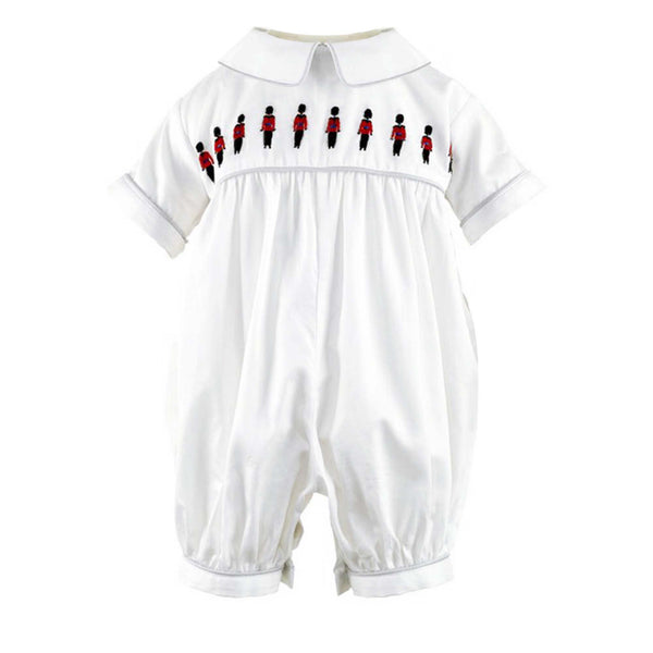 Soldier Embroidered Babysuit