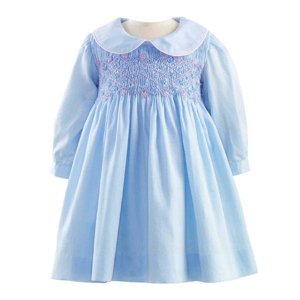 Flower Smocked Dress & Bloomer
