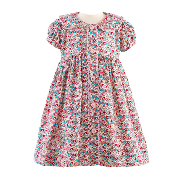 Ditsy Floral Button Front Dress & Bloomer