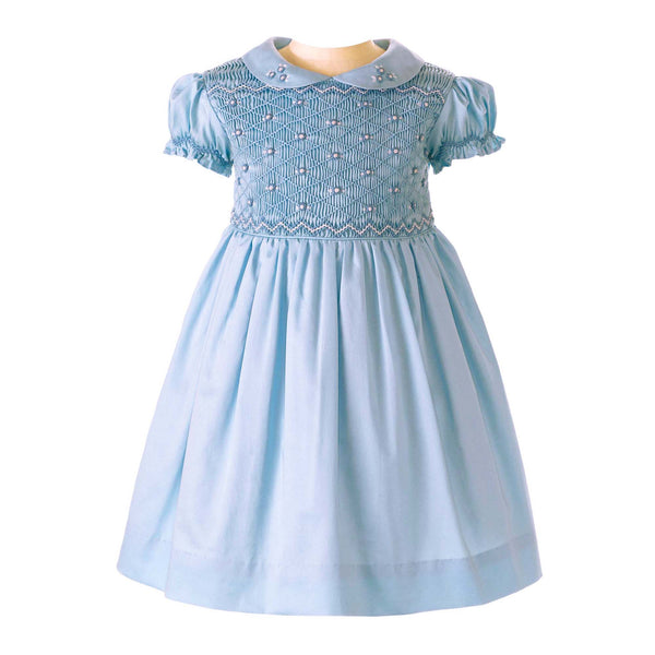 Rose Smocked Dress & Bloomers