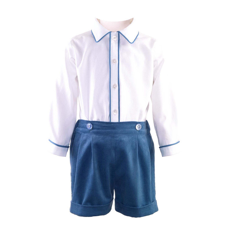Cord Short & Shirt Set