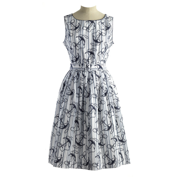 Maxi Anchor Dress
