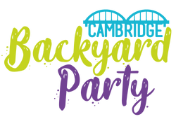 Cambridge Backyard Party Logo