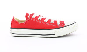 CONVERSE CTAS OX EV Chaussures Basses Baskets Sneakers rouge
