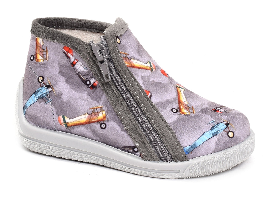 BELLAMY vico gris marine Chaussons