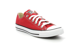 CONVERSE CTAS CORE OX adultes Chaussures Basses Baskets Sneakers rouge