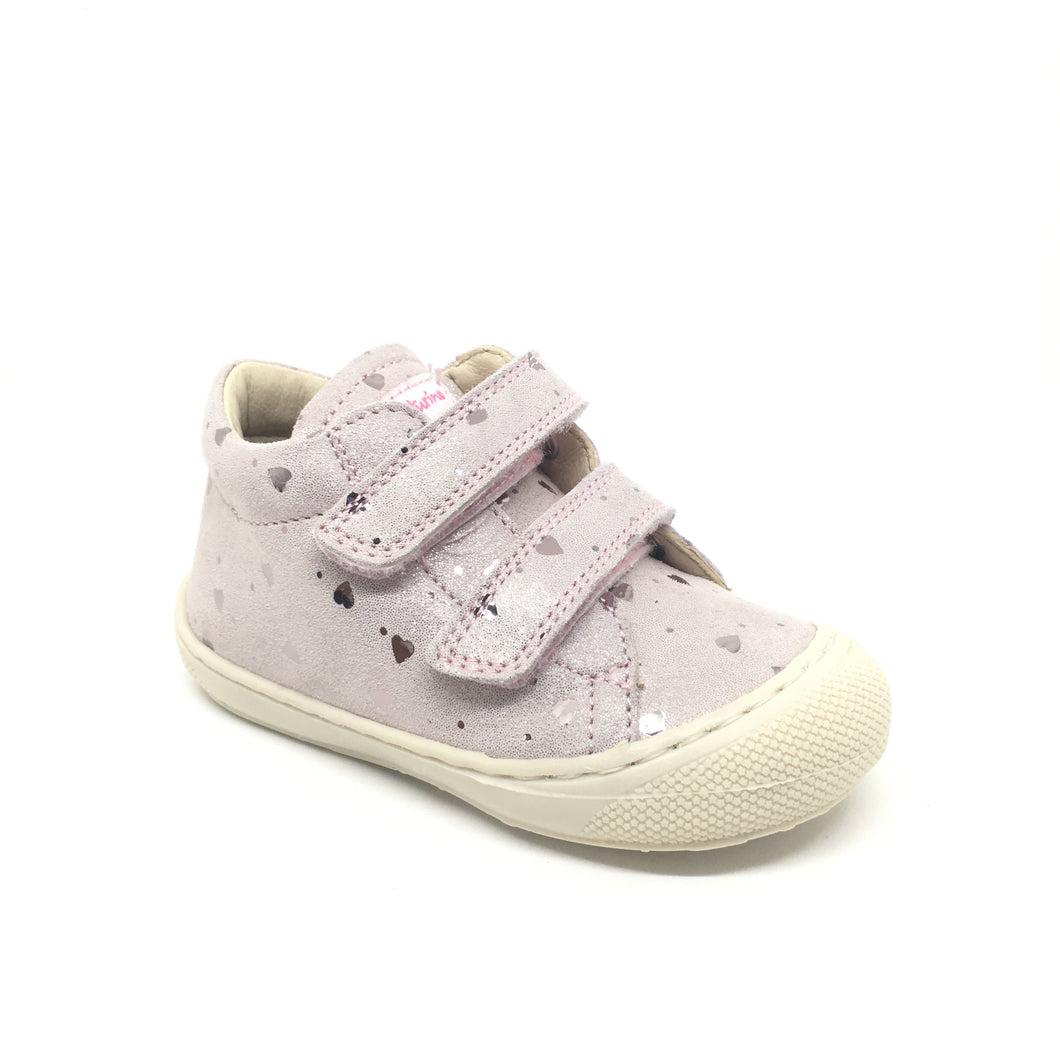 Naturino cocoon velcro coeur rose chaussures