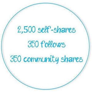 Poshmark Activity Monthly Subscription - 2,500 self-shares/day-Newish
