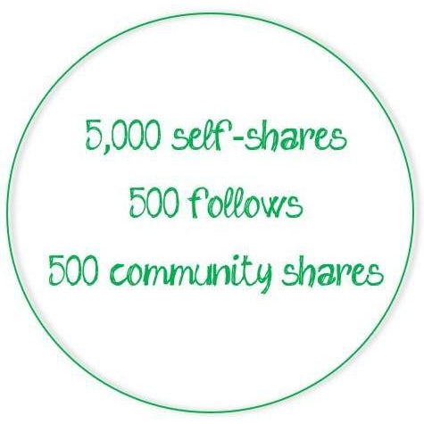 Poshmark Activity Monthly Subscription - 5,000 self-shares/day-Newish