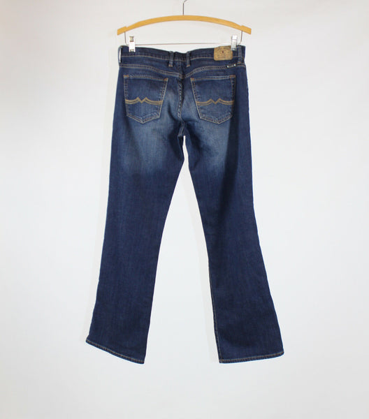 Medium rinse 100% cotton LUCKY sweet n low bootcut jeans 6