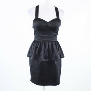 Black THE ADDISON STORY sleeveless peplum dress S NWT $98.00