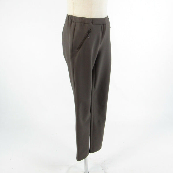 Gray WORTH stretch skinny dress pants 2 NWOT