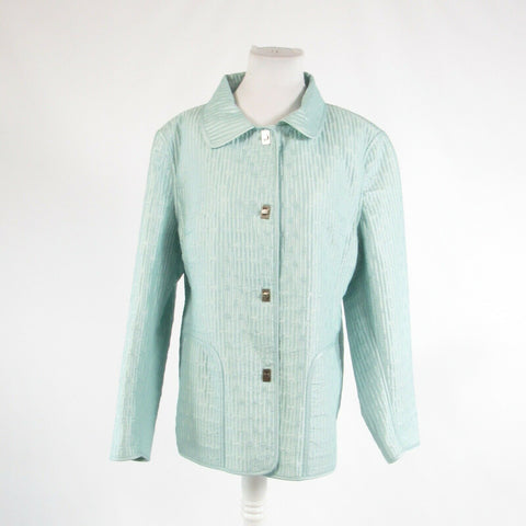 Mint green PERRY ELLIS PORTFOLIO long sleeve jacket XL-Newish