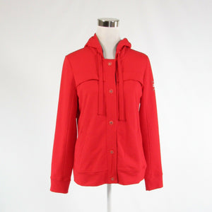 Red cotton blend LAUREN RALPH LAUREN Active stretch long sleeve jacket M