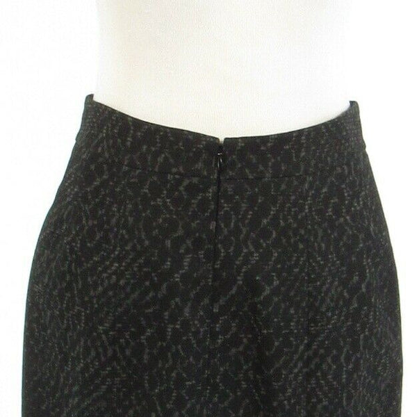 Black snake TAHARI pencil skirt 8 44-Newish