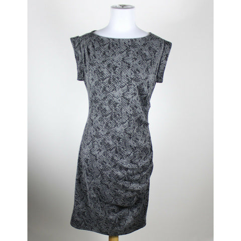 ANN TAYLOR gray sheath sleeveless knee-length dress PS-Newish