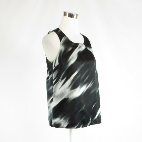Black gray space dyed THE LIMITED sleeveless tank top blouse M-Newish