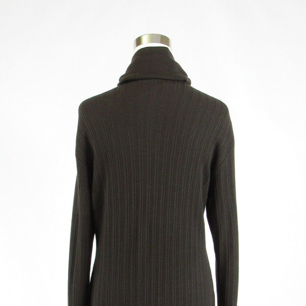 Gray ENIGMA 3/4 sleeve sweatercoat sweater ribbed M-Newish