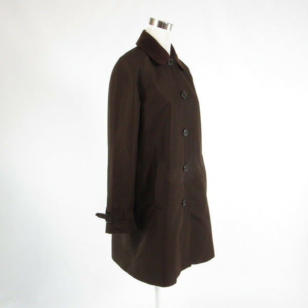Dark brown LAUREN RALPH LAUREN long sleeve coat M