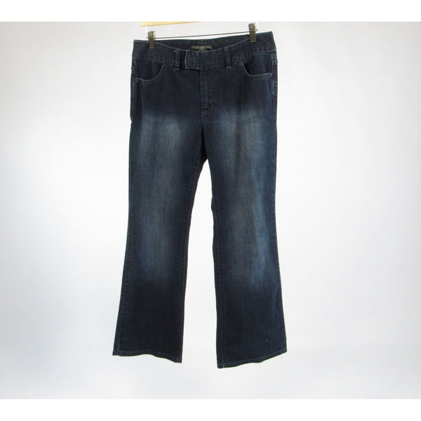 Dark rinse cotton BANANA REPUBLIC bootcut jeans 10S
