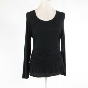 Black MARC BY MARC JACOBS stretch long sleeve blouse M