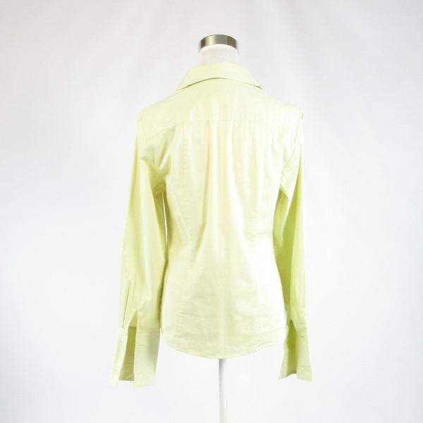 Light green cotton blend BANANA REPUBLIC long sleeve button down blouse M-Newish