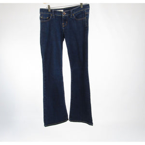 Dark rinse cotton blend X2 bootcut jeans 10