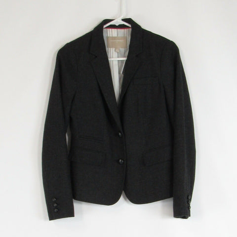 Charcoal gray BANANA REPUBLIC blazer jacket 4