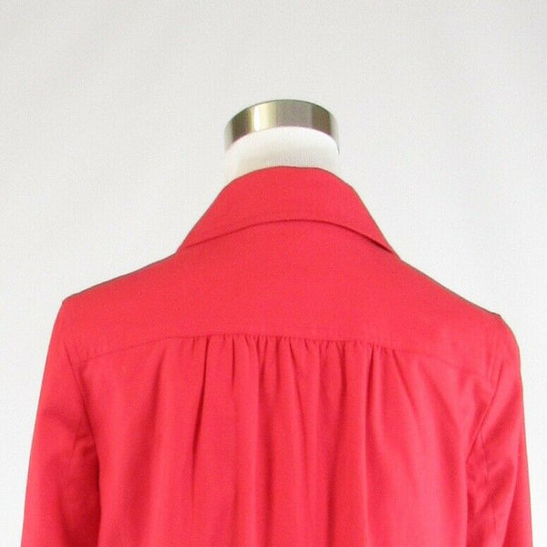 Light red cotton blend BANANA REPUBLIC stretch 3/4 sleeve jacket S