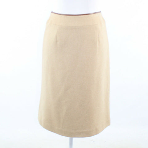 Beige TALBOTS skirt pencil skirt 4P