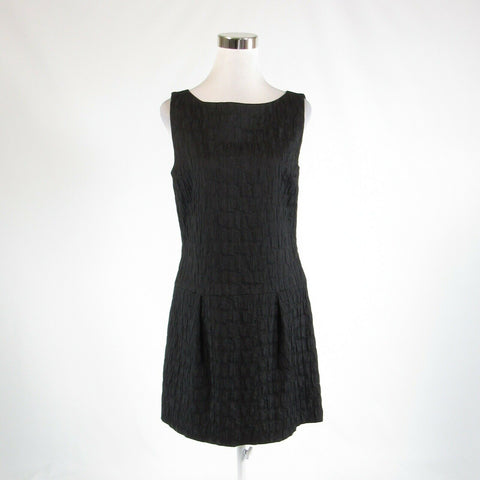 Black textured KENNETH COLE NEW YORK sleeveless A-line dress 6