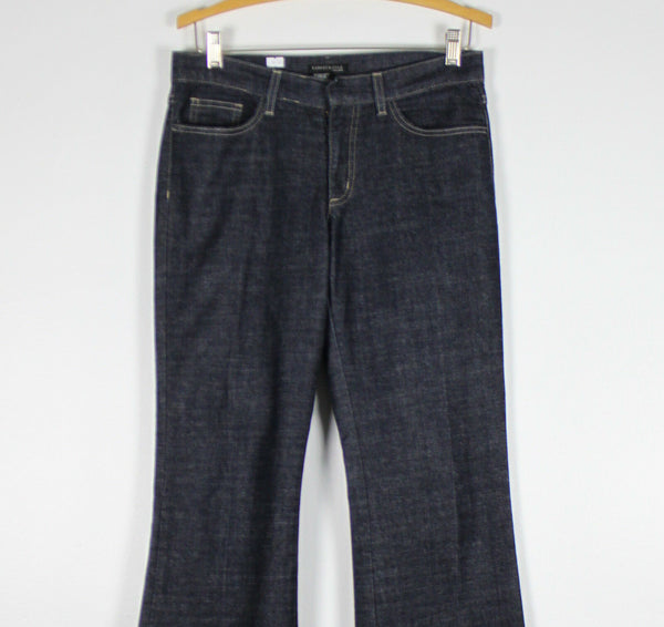 KENNETH COLE dark denim boot cut jeans 6-Newish