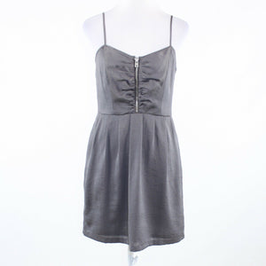 Gray MARC NEW YORK Andrew Marc spaghetti strap sun dress 4
