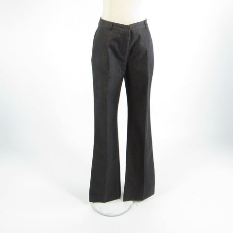 Charcoal gray cotton blend J. CREW straight leg dress pants 4