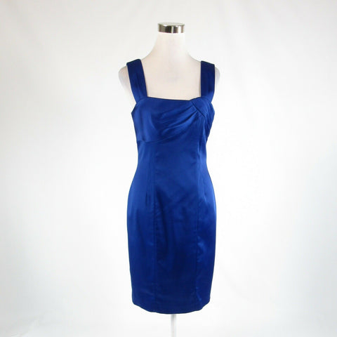 Dark blue CALVIN KLEIN stretch sleeveless bodycon dress 8 NWT