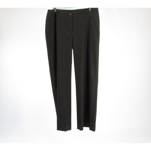 Black CHICO'S wide leg dress pants 1 S 8 Short