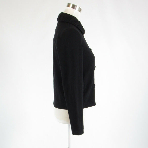 Black COLDWATER CREEK long sleeve cardigan sweater PXS