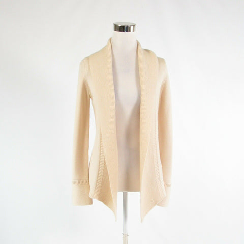 Light beige ANN TAYLOR long sleeve cardigan sweater XS