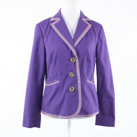 Purple 100% cotton BODEN long sleeve jacket 10